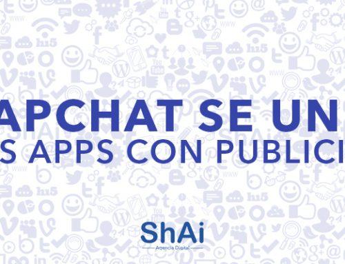 Snapchat se unirá a las Apps con publicidad