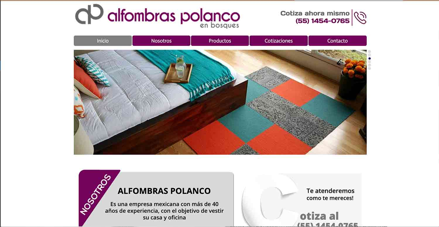 alfombras polanco