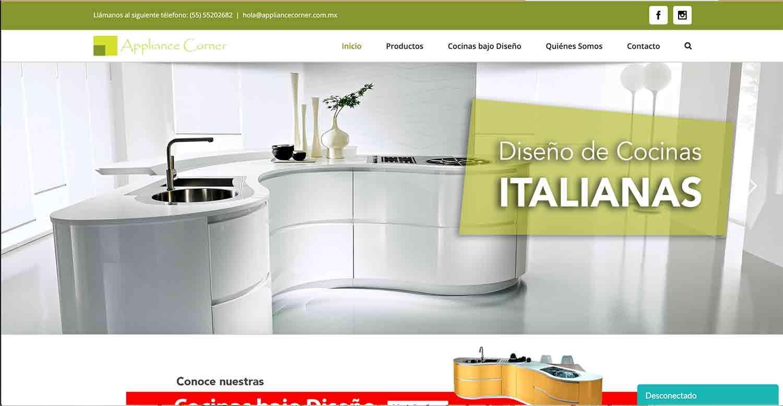 appliance corner